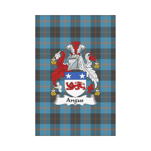 Angus Ancient Tartan Flag Clan Badge | Scottishclans.co