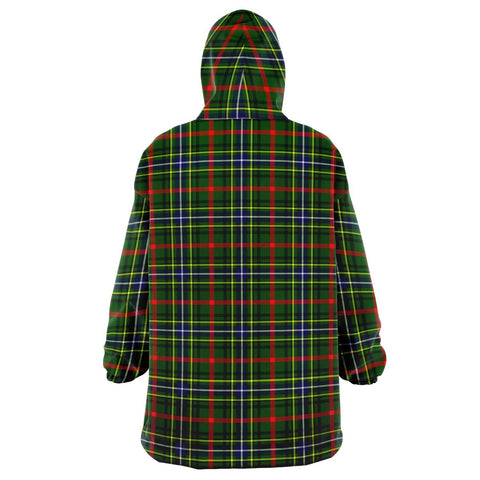 Image of Bisset Snug Hoodie - Unisex Tartan Plaid Back