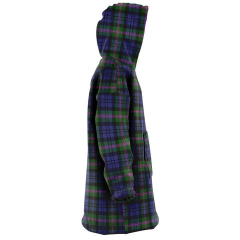 Image of Baird Modern Snug Hoodie - Unisex Tartan Plaid Right