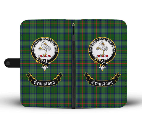 Cranstoun Clan Tartan Wallet Phone Case | Special Custom Design