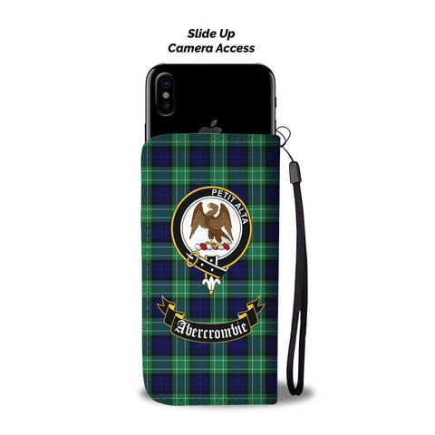 Abercrombie Clan Tartan Wallet Phone Case | Special Custom Design