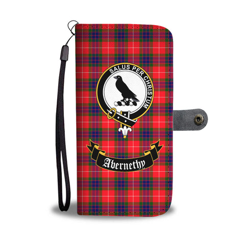 Image of Abernethy Clan Tartan Wallet Phone Case | Special Custom Design