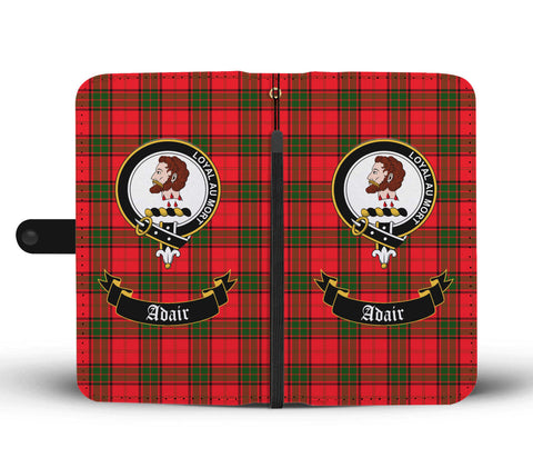 Adair Clan Tartan Wallet Phone Case | Special Custom Design