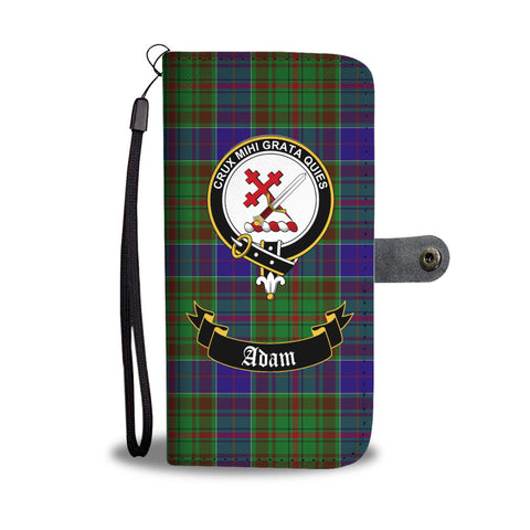 Adam Clan Tartan Wallet Phone Case | Special Custom Design