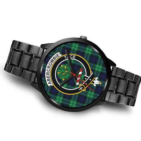 Abercrombie Clans ,Brown Leather watch, leather steel watch, tartan watch, tartan watches, clan watch, scotland watch, merry christmas, cyber Monday, halloween, black Friday