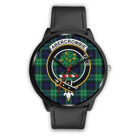 Abercrombie Clans ,Black Metal Mesh watch, leather steel watch, tartan watch, tartan watches, clan watch, scotland watch, merry christmas, cyber Monday, halloween, black Friday