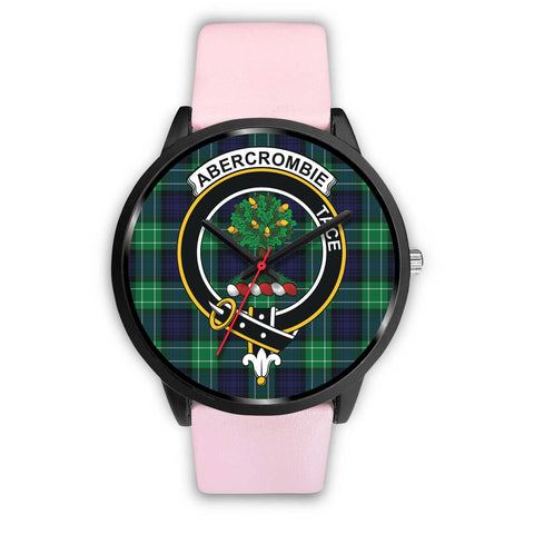 Abercrombie Clans ,Silver Metal Link watch, leather steel watch, tartan watch, tartan watches, clan watch, scotland watch, merry christmas, cyber Monday, halloween, black Friday