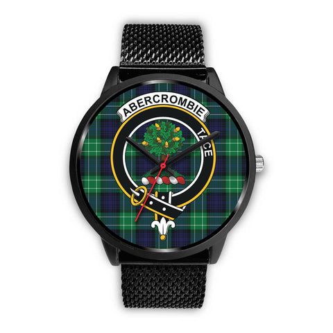 Abercrombie Clans ,Rose Gold Metal Mesh watch, leather steel watch, tartan watch, tartan watches, clan watch, scotland watch, merry christmas, cyber Monday, halloween, black Friday