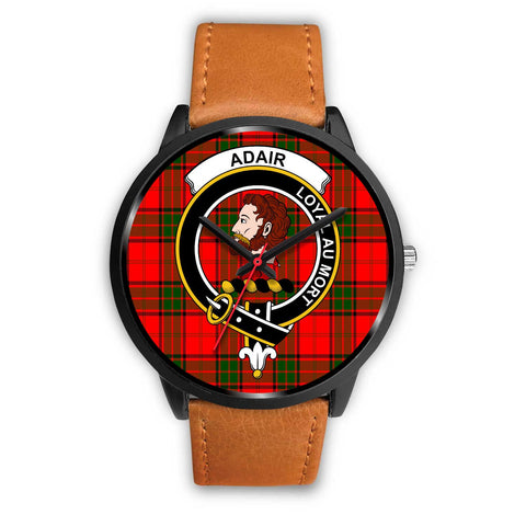 Adair Clans ,Pink Leather watch, leather steel watch, tartan watch, tartan watches, clan watch, scotland watch, merry christmas, cyber Monday, halloween, black Friday