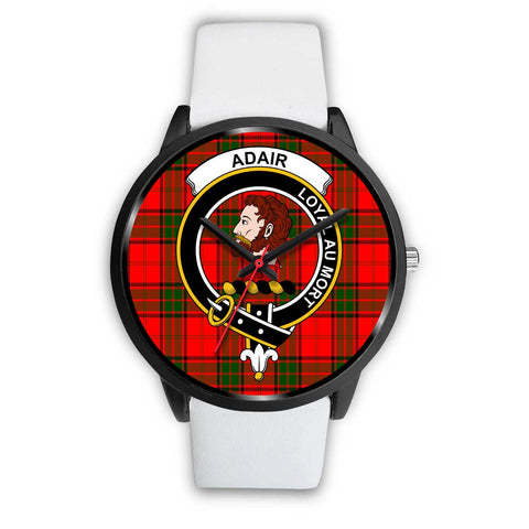 Adair Clans ,Silver Metal Mesh watch, leather steel watch, tartan watch, tartan watches, clan watch, scotland watch, merry christmas, cyber Monday, halloween, black Friday