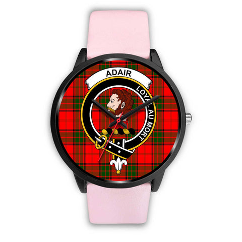 Adair Clans ,Silver Metal Link watch, leather steel watch, tartan watch, tartan watches, clan watch, scotland watch, merry christmas, cyber Monday, halloween, black Friday