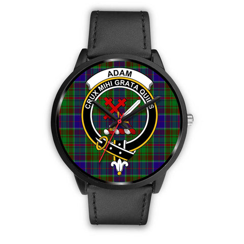 Adam Clans ,Black Metal Mesh watch, leather steel watch, tartan watch, tartan watches, clan watch, scotland watch, merry christmas, cyber Monday, halloween, black Friday