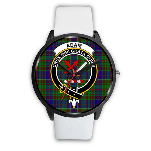 Adam Clans ,Silver Metal Mesh watch, leather steel watch, tartan watch, tartan watches, clan watch, scotland watch, merry christmas, cyber Monday, halloween, black Friday