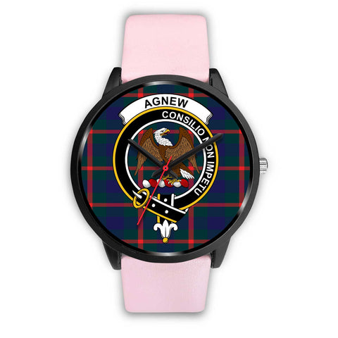 Agnew Modern Clans ,Black Metal Mesh watch, leather steel watch, tartan watch, tartan watches, clan watch, scotland watch, merry christmas, cyber Monday, halloween, black Friday