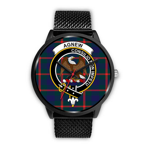 Agnew Modern Clans ,Silver Metal Mesh watch, leather steel watch, tartan watch, tartan watches, clan watch, scotland watch, merry christmas, cyber Monday, halloween, black Friday