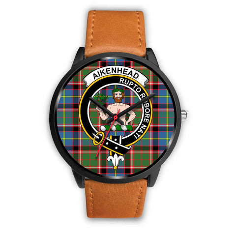 Aikenhead Clans ,Pink Leather watch, leather steel watch, tartan watch, tartan watches, clan watch, scotland watch, merry christmas, cyber Monday, halloween, black Friday