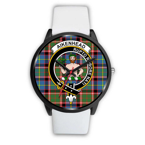 Aikenhead Clans ,Silver Metal Mesh watch, leather steel watch, tartan watch, tartan watches, clan watch, scotland watch, merry christmas, cyber Monday, halloween, black Friday