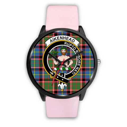 Aikenhead Clans ,Silver Metal Link watch, leather steel watch, tartan watch, tartan watches, clan watch, scotland watch, merry christmas, cyber Monday, halloween, black Friday