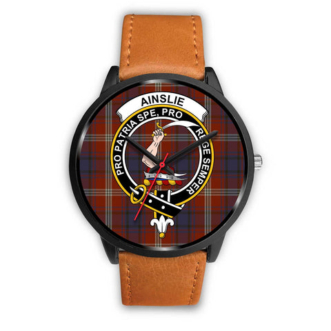 Ainslie Clans ,Pink Leather watch, leather steel watch, tartan watch, tartan watches, clan watch, scotland watch, merry christmas, cyber Monday, halloween, black Friday