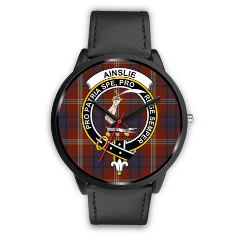 Ainslie Clans ,Black Metal Mesh watch, leather steel watch, tartan watch, tartan watches, clan watch, scotland watch, merry christmas, cyber Monday, halloween, black Friday