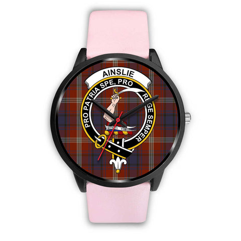 Ainslie Clans ,Silver Metal Link watch, leather steel watch, tartan watch, tartan watches, clan watch, scotland watch, merry christmas, cyber Monday, halloween, black Friday