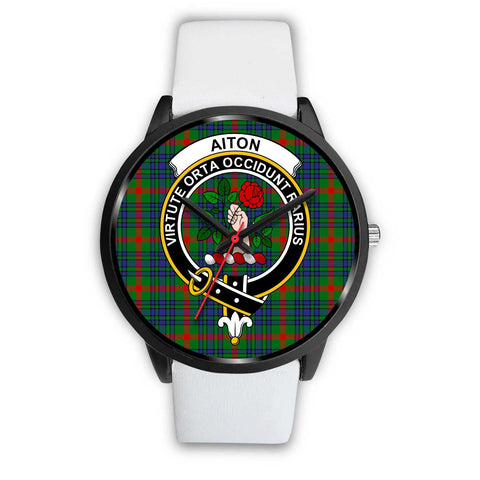 Aiton Clans ,Silver Metal Mesh watch, leather steel watch, tartan watch, tartan watches, clan watch, scotland watch, merry christmas, cyber Monday, halloween, black Friday