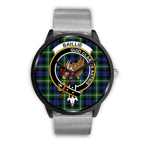 Baillie Modern Clans ,Rose Gold Metal Link watch, leather steel watch, tartan watch, tartan watches, clan watch, scotland watch, merry christmas, cyber Monday, halloween, black Friday