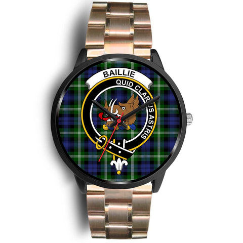 Baillie Modern Clans ,Black Leather watch, leather steel watch, tartan watch, tartan watches, clan watch, scotland watch, merry christmas, cyber Monday, halloween, black Friday