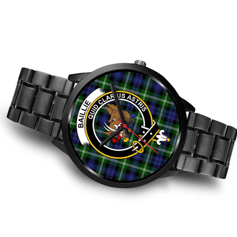 Image of Baillie Modern Clans ,Brown Leather watch, leather steel watch, tartan watch, tartan watches, clan watch, scotland watch, merry christmas, cyber Monday, halloween, black Friday