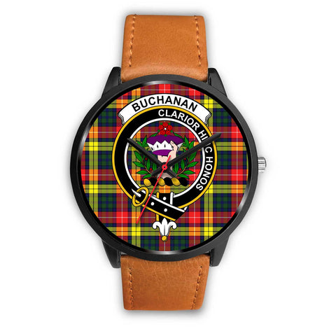 Buchanan Modern Clans ,Pink Leather watch, leather steel watch, tartan watch, tartan watches, clan watch, scotland watch, merry christmas, cyber Monday, halloween, black Friday