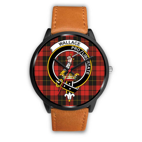 Wallace Weathered Clans ,Pink Leather watch, leather steel watch, tartan watch, tartan watches, clan watch, scotland watch, merry christmas, cyber Monday, halloween, black Friday