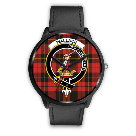 Wallace Weathered Clans ,Black Metal Mesh watch, leather steel watch, tartan watch, tartan watches, clan watch, scotland watch, merry christmas, cyber Monday, halloween, black Friday