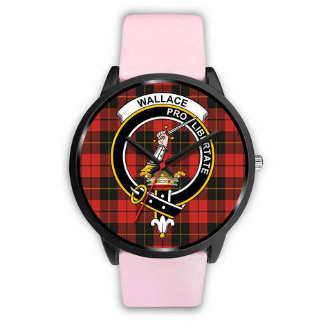 Wallace Weathered Clans ,Silver Metal Link watch, leather steel watch, tartan watch, tartan watches, clan watch, scotland watch, merry christmas, cyber Monday, halloween, black Friday