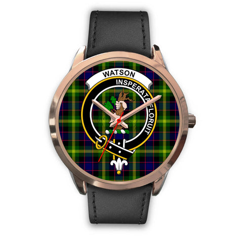 Watson Modern, Black Metal Mesh Watch,  leather steel watch, tartan watch, tartan watches, clan watch, scotland watch, merry christmas, cyber Monday, halloween, black Friday