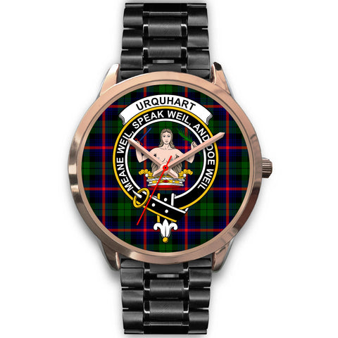 Urquhart Modern, Rose Gold Metal Mesh Watch,  leather steel watch, tartan watch, tartan watches, clan watch, scotland watch, merry christmas, cyber Monday, halloween, black Friday