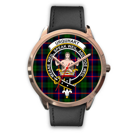 Urquhart Modern, Black Metal Mesh Watch,  leather steel watch, tartan watch, tartan watches, clan watch, scotland watch, merry christmas, cyber Monday, halloween, black Friday