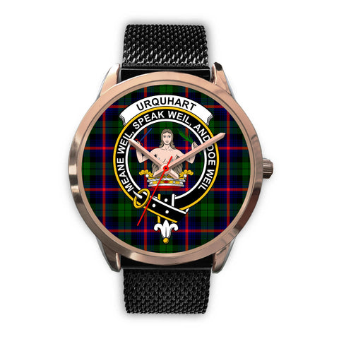 Urquhart Modern, Silver Metal Link Watch,  leather steel watch, tartan watch, tartan watches, clan watch, scotland watch, merry christmas, cyber Monday, halloween, black Friday