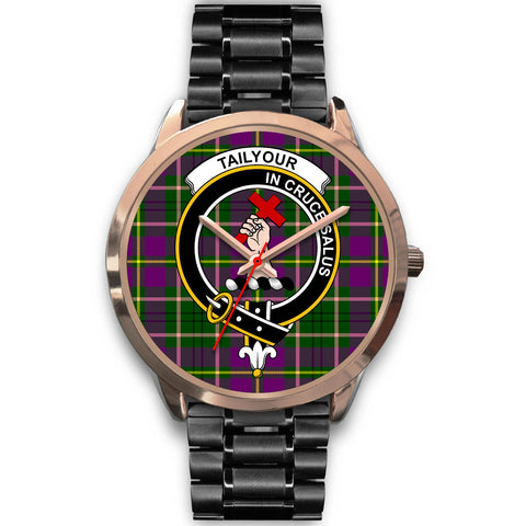 Image of Taylor, Rose Gold Metal Mesh Watch,  leather steel watch, tartan watch, tartan watches, clan watch, scotland watch, merry christmas, cyber Monday, halloween, black Friday