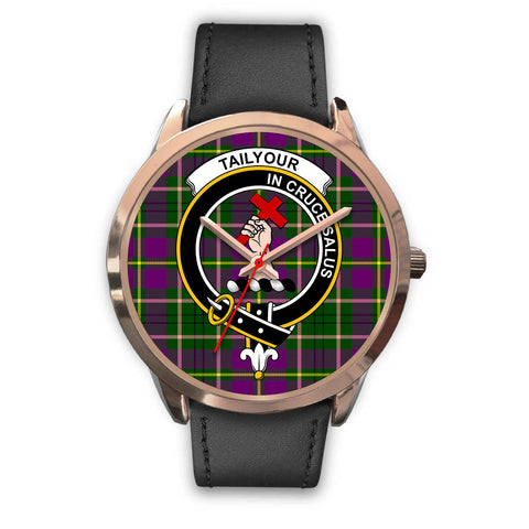 Image of Taylor, Black Metal Mesh Watch,  leather steel watch, tartan watch, tartan watches, clan watch, scotland watch, merry christmas, cyber Monday, halloween, black Friday