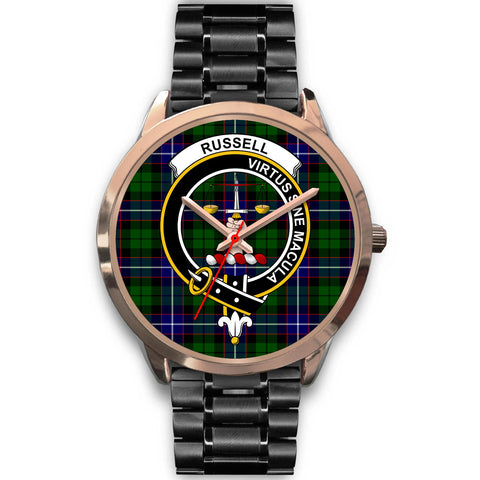 Russell, Rose Gold Metal Mesh Watch,  leather steel watch, tartan watch, tartan watches, clan watch, scotland watch, merry christmas, cyber Monday, halloween, black Friday