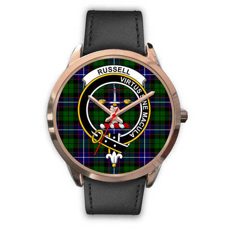 Russell, Black Metal Mesh Watch,  leather steel watch, tartan watch, tartan watches, clan watch, scotland watch, merry christmas, cyber Monday, halloween, black Friday