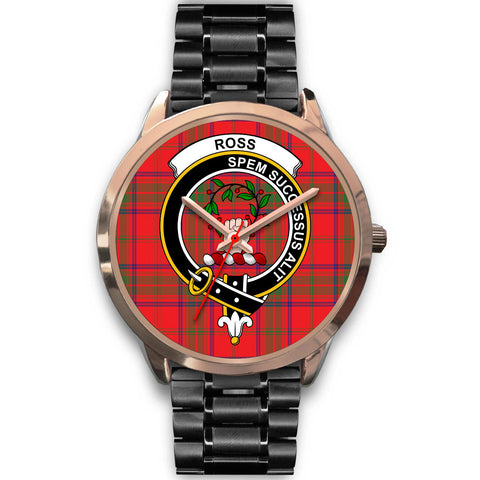 Ross Modern, Rose Gold Metal Mesh Watch,  leather steel watch, tartan watch, tartan watches, clan watch, scotland watch, merry christmas, cyber Monday, halloween, black Friday