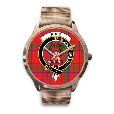 Ross Modern, Black Leather Watch,  leather steel watch, tartan watch, tartan watches, clan watch, scotland watch, merry christmas, cyber Monday, halloween, black Friday