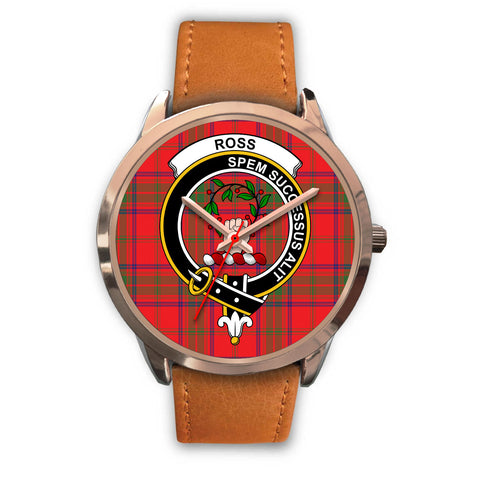 Ross Modern, Pink Leather Watch,  leather steel watch, tartan watch, tartan watches, clan watch, scotland watch, merry christmas, cyber Monday, halloween, black Friday