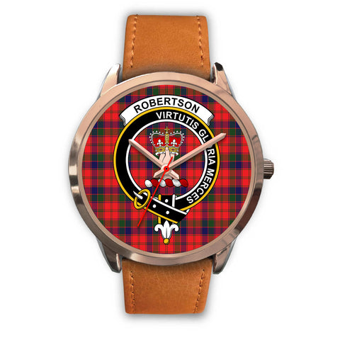 Robertson Modern, Pink Leather Watch,  leather steel watch, tartan watch, tartan watches, clan watch, scotland watch, merry christmas, cyber Monday, halloween, black Friday