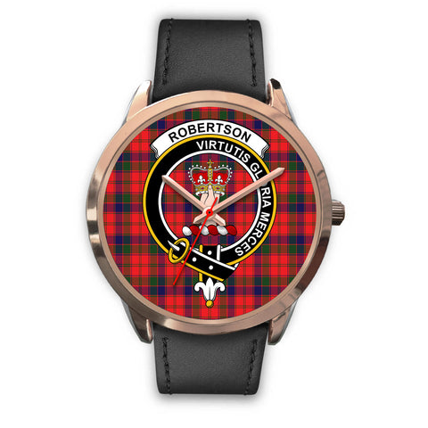 Image of Robertson Modern, Black Metal Mesh Watch,  leather steel watch, tartan watch, tartan watches, clan watch, scotland watch, merry christmas, cyber Monday, halloween, black Friday