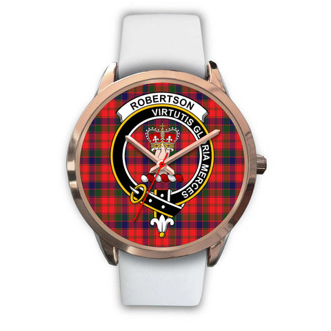 Image of Robertson Modern, Black Metal Link Watch,  leather steel watch, tartan watch, tartan watches, clan watch, scotland watch, merry christmas, cyber Monday, halloween, black Friday