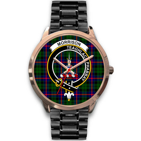 Morrison Modern, Rose Gold Metal Mesh Watch,  leather steel watch, tartan watch, tartan watches, clan watch, scotland watch, merry christmas, cyber Monday, halloween, black Friday