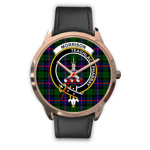Morrison Modern, Black Metal Mesh Watch,  leather steel watch, tartan watch, tartan watches, clan watch, scotland watch, merry christmas, cyber Monday, halloween, black Friday