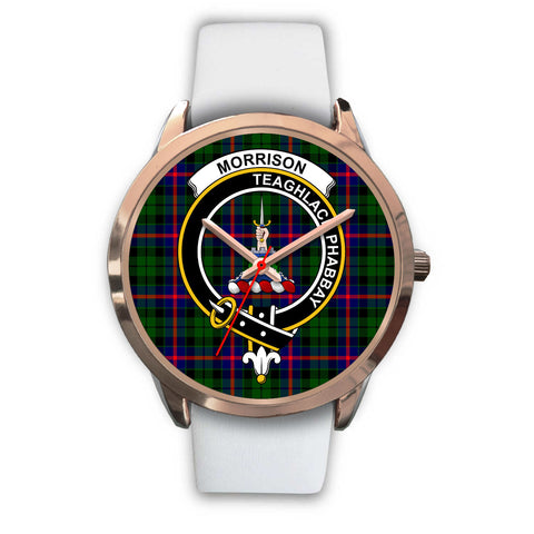 Morrison Modern, Black Metal Link Watch,  leather steel watch, tartan watch, tartan watches, clan watch, scotland watch, merry christmas, cyber Monday, halloween, black Friday